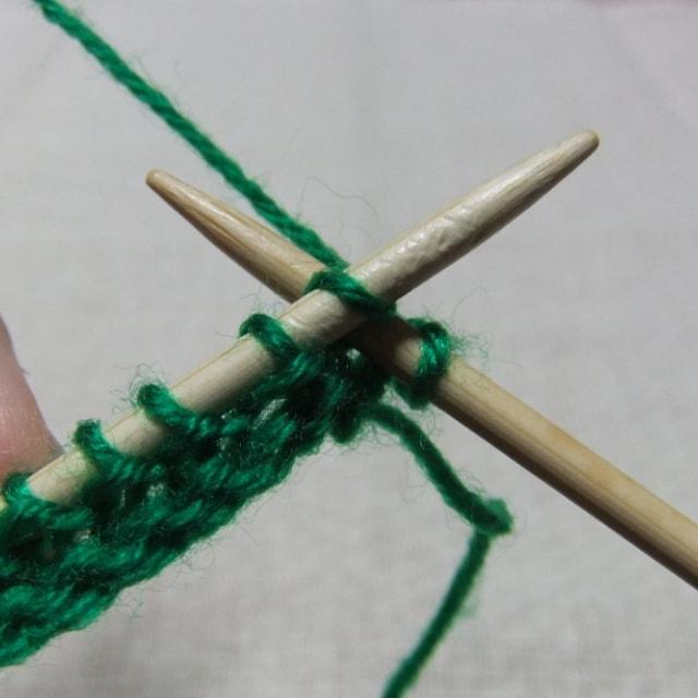 ガーター編みの編み方