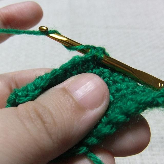 細編みの編み方