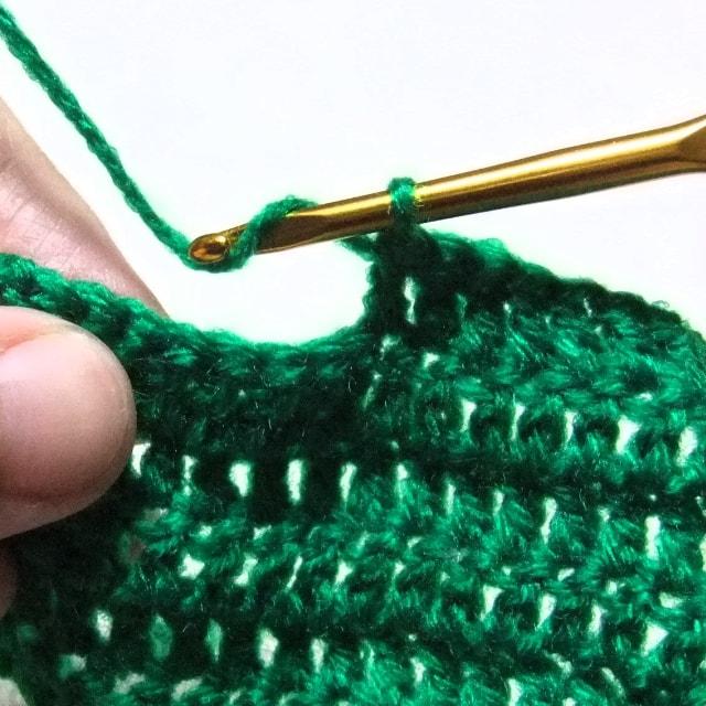 長編みの編み方